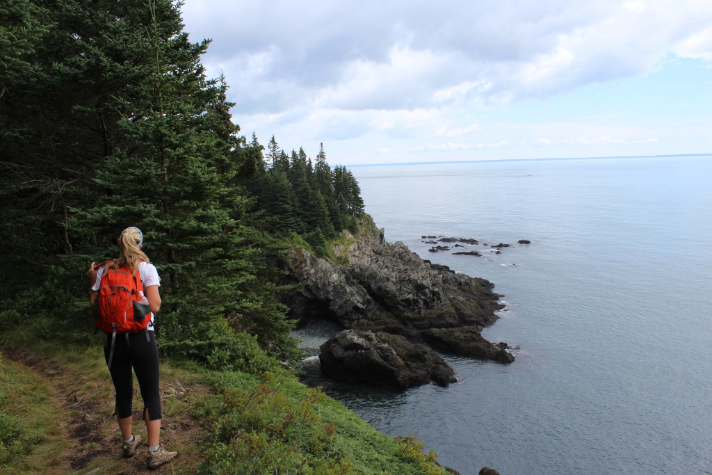 bold coast hike maine