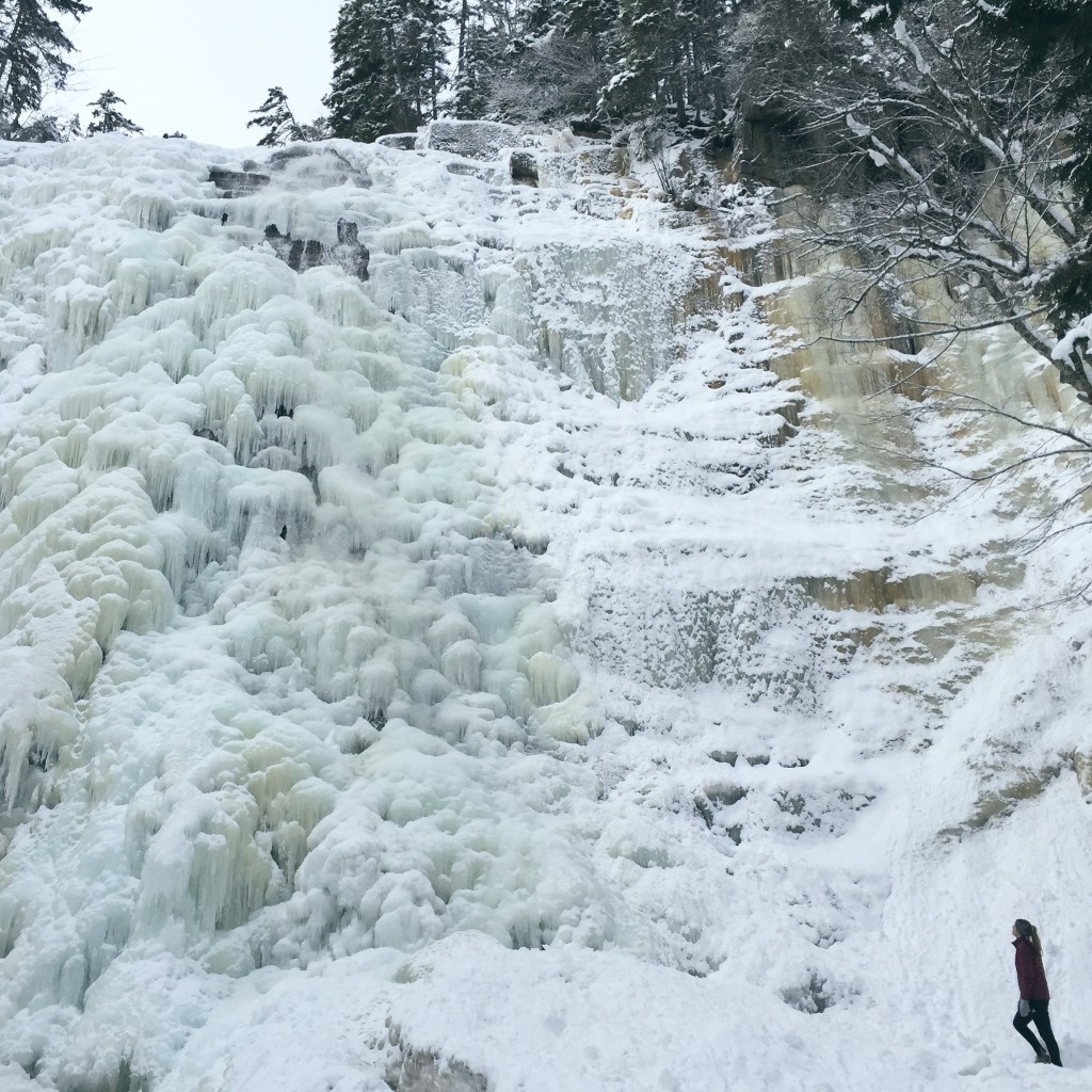 Arethusa Falls Winter Hike