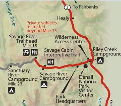 The Savage Alpine Trail Denali National Park Trails Unblazed