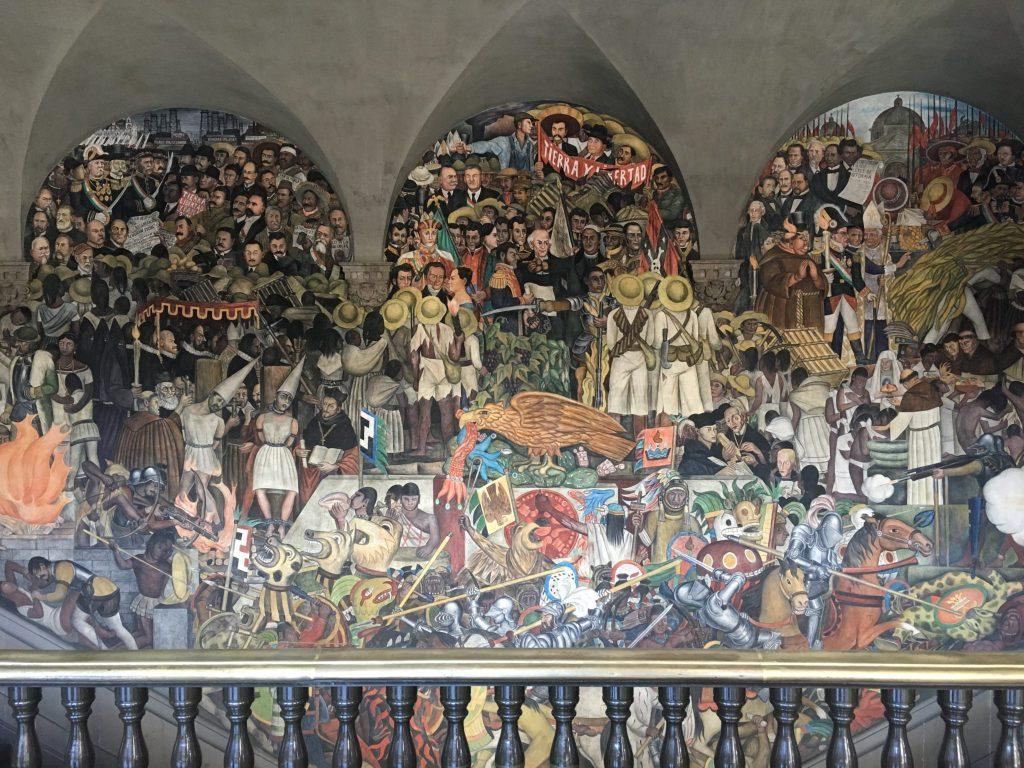 Diego rivera murals palacio nacional