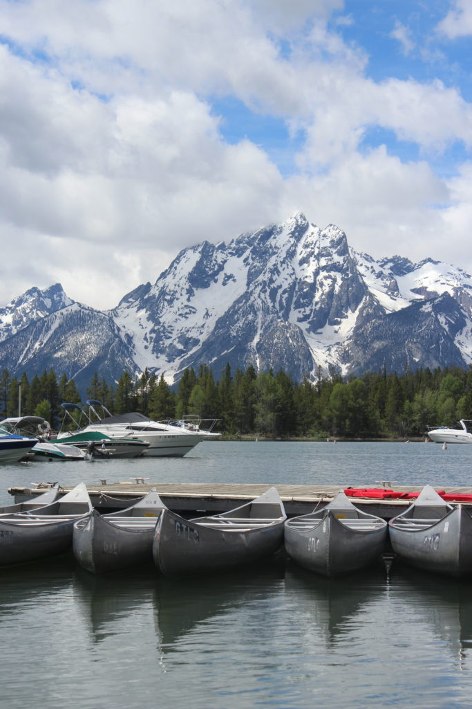 Canoeing Jackson Lake - Grand Tetons | Trails Unblazed