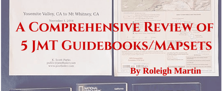 A Comprehensive Review of 5 JMT Guidebooks