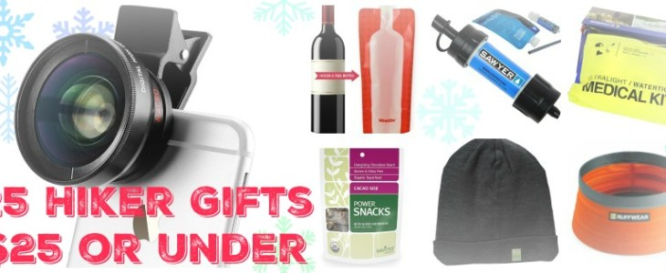 25 for Under $25: Gift Guide for Hikers