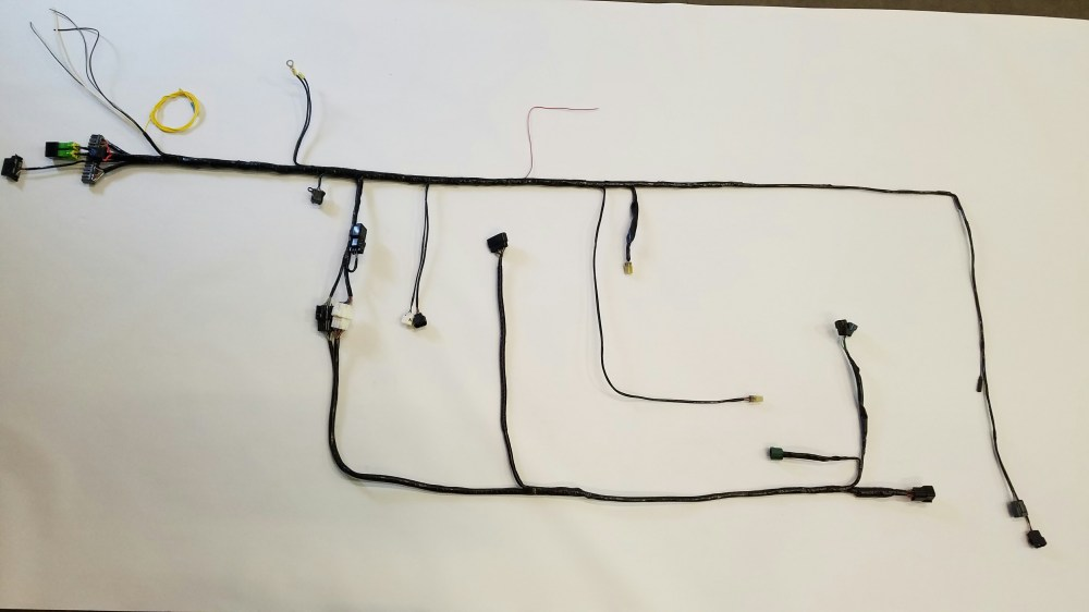medium resolution of custom plug in wiring harness modification service