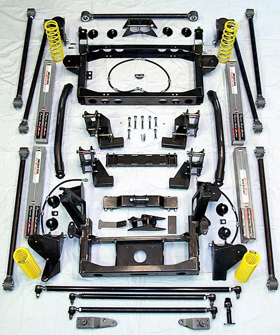 hight resolution of  trail slayer samurai coil suspension kit