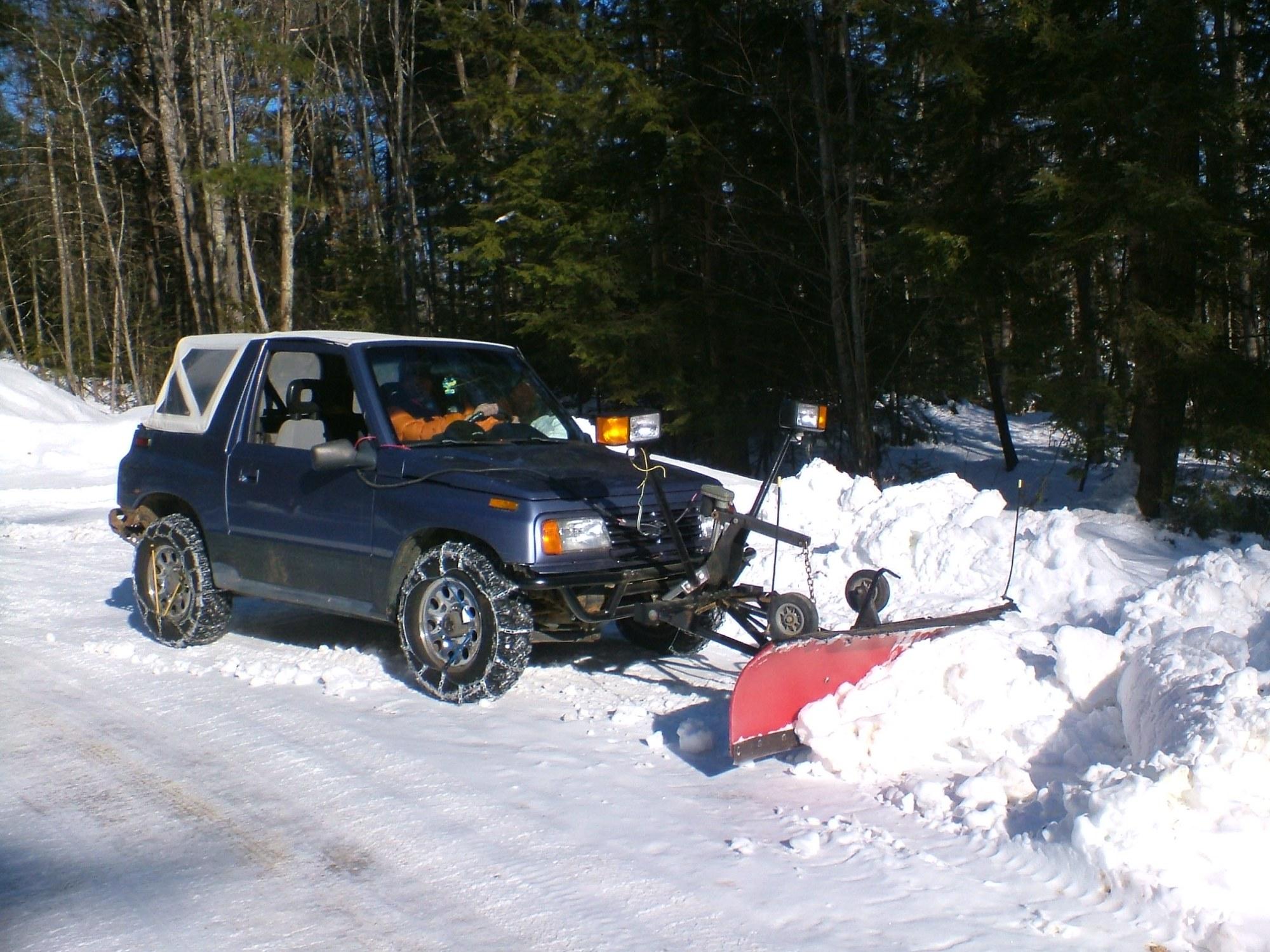 hight resolution of suzuki snowplow