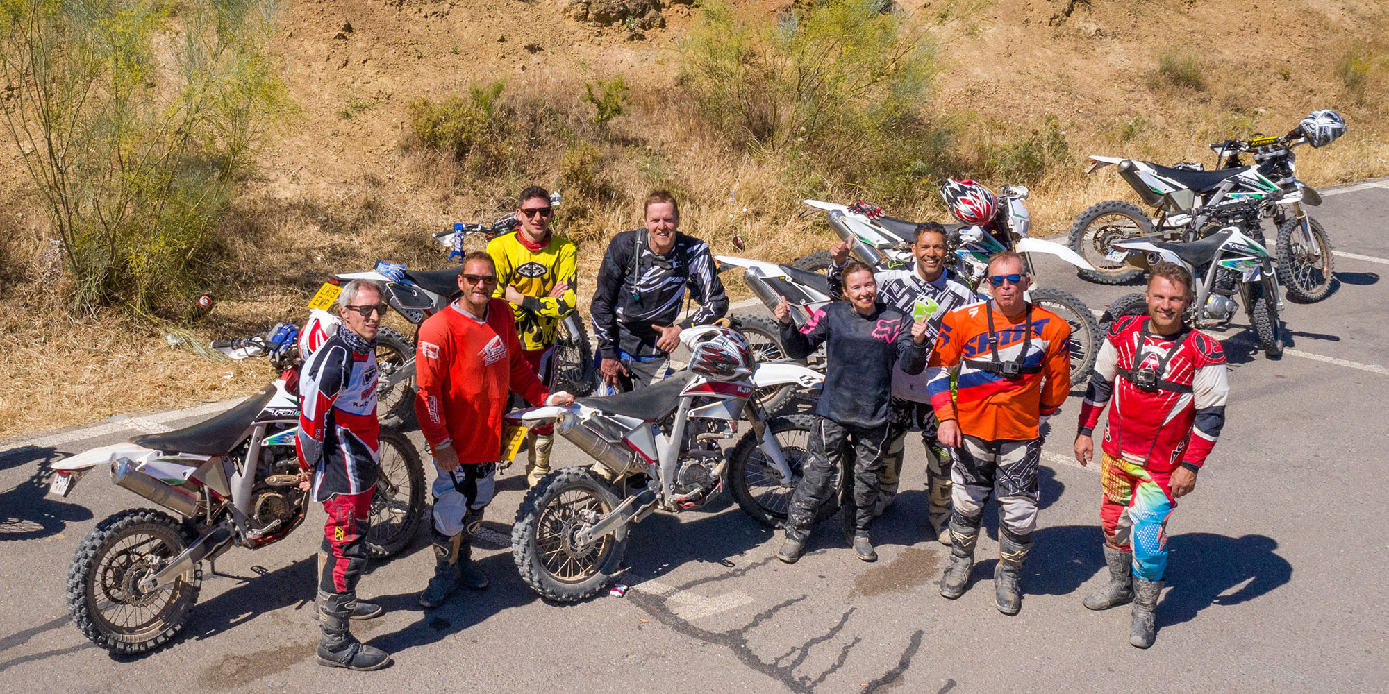 The best off-road motorcycle tours in Spain