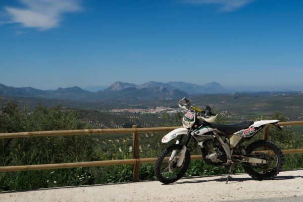 Enduro Motorcycle tours in Periana, near Malaga