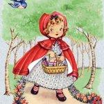Truyện đọc cho bé: Cô bé quàng khăn đỏ