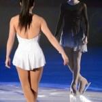 Kim Yuna và Michelle Kwan nhảy Gangnam Style trên sân trượt băng