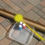 Hoạt động ngoài trời cho trẻ ở tuổi nhà trẻ – Sơn bằng vỉ đập ruồi