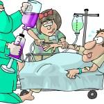 Tranh tô màu cho bé: Chủ đề bác sĩ khám bệnh