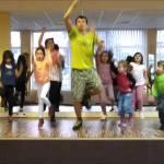 Bài tập thể dục nhịp điệu cho bé