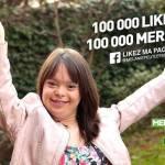 Cô gái có Hội chứng Down trở thành người dẫn bản tin thời tiết Pháp