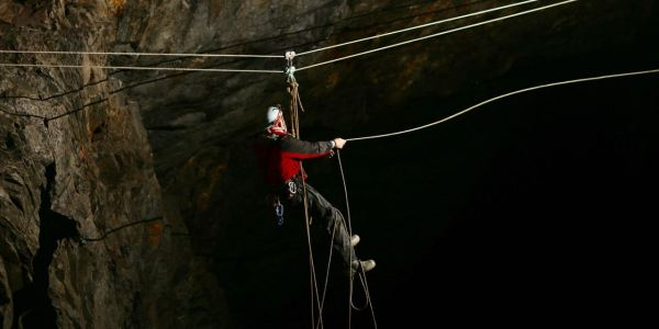 Level 2 Local Cave & Mine Leader Training Course (inc. Tyrolean for groups), 29th-31st May 2019 (North Wales)