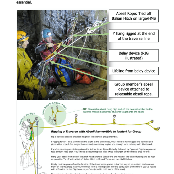 Vertical Leader Rope-work Document now available to download