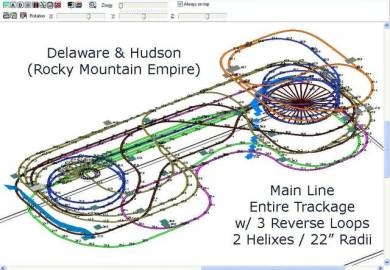 Ho Scale Train Layout Plans