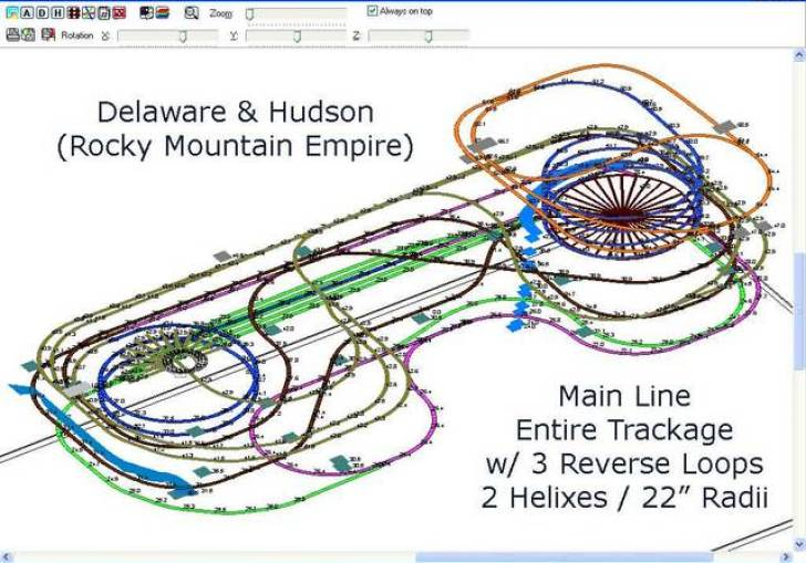 Ho Scale Train Layout Plans