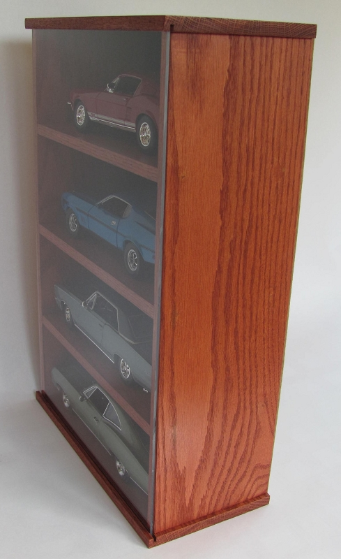 Wood Nascar Display Cases