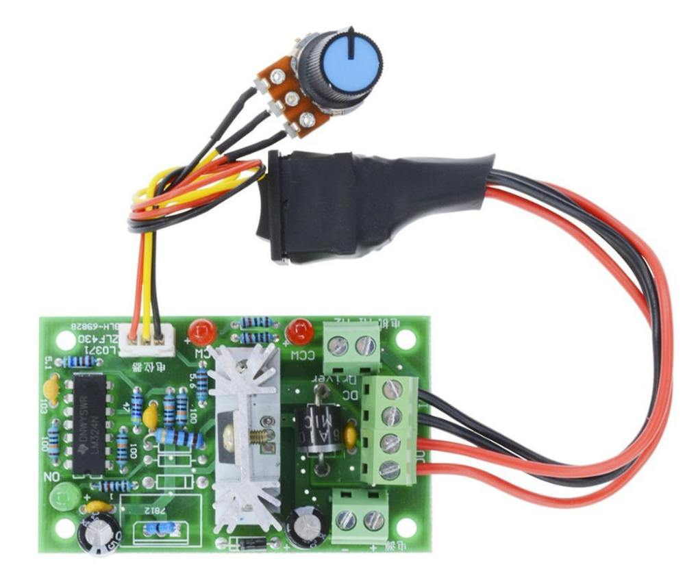 medium resolution of you can also find speed controllers that include a dpdt reversing switch here is one example that i purchased from amazon