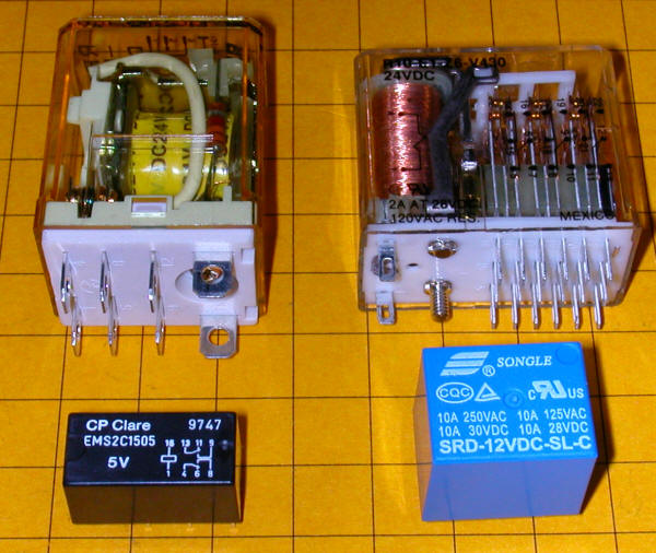 Relay Switch Types