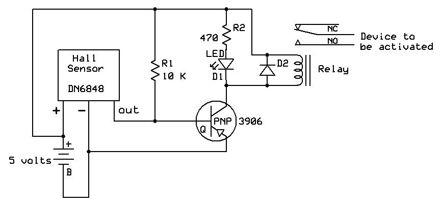 sound activated lights circuit schematic