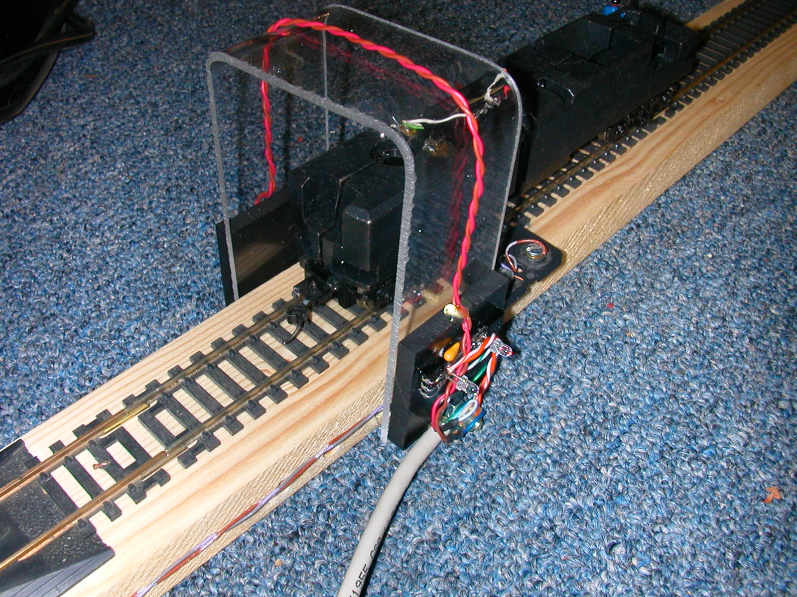 hight resolution of barrel sensors g scale