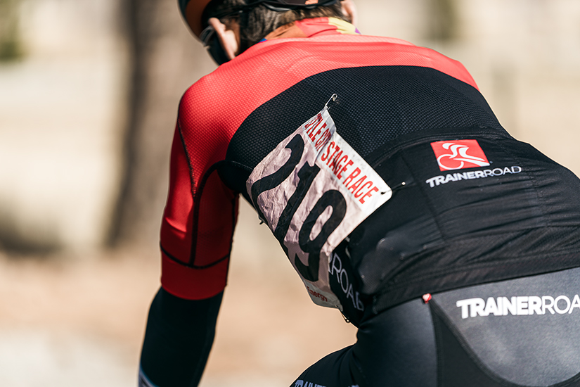 Improperly pinned race number