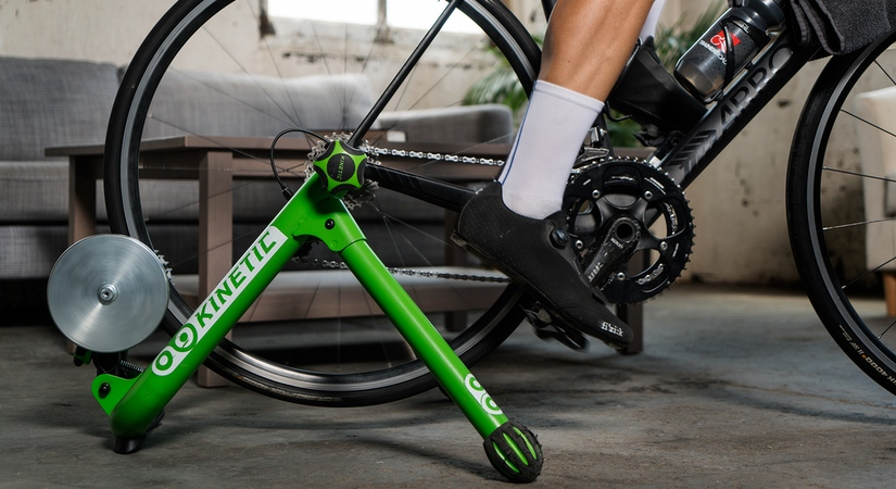Kurt Kinetic Road Machine is great for a beginner to indoor training