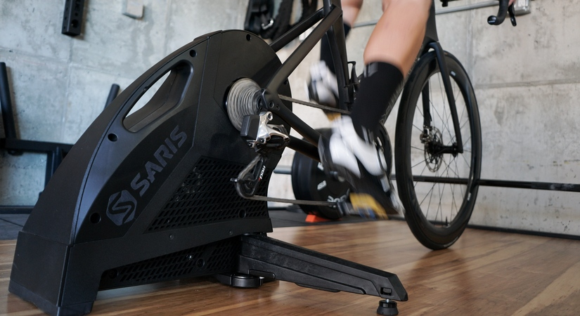 The Saris H3 is a good choice for a beginner to indoor training.