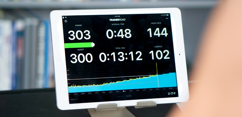 To get started with TrainerRoad you want to start with the Ramp Test.