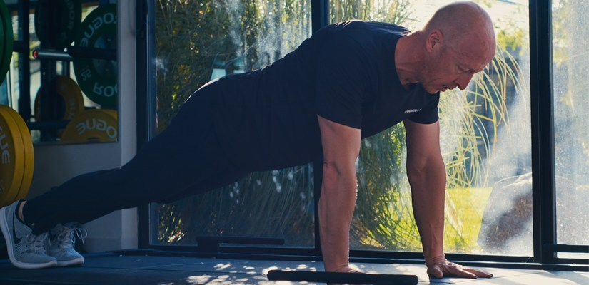 The upper body muscles are important for cycling. Pushups are good exercise to train them.