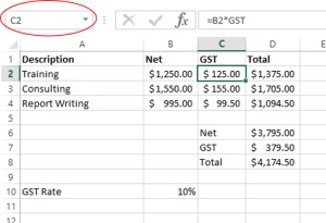 percentages in excel