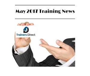 May training news