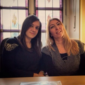 Sarah Pederboni e Alessandra De sanctis