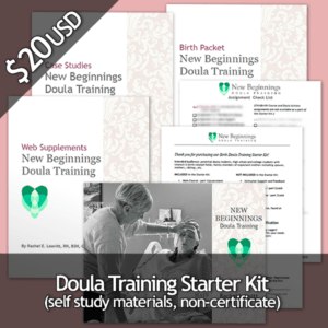 Birth Doula Training Starter Kit - Only $20