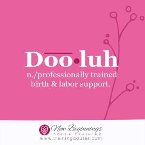 become a doula