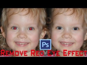 How To Remove Red Eyes Effect in Photoshop