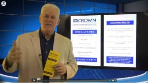 Late Fee Coupon Training Property Managers Robert Locke Video