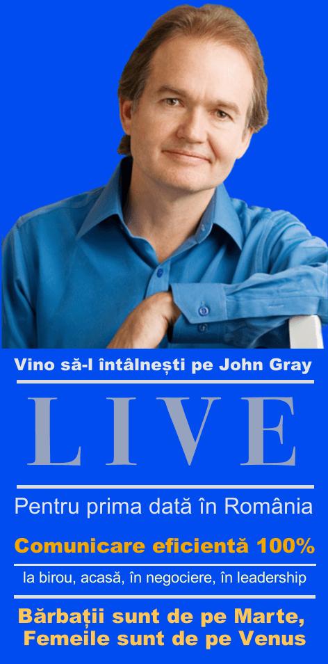 John gray live in Romania vertical