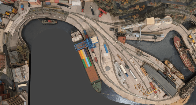 Google Earth View of the Wrightsville Port