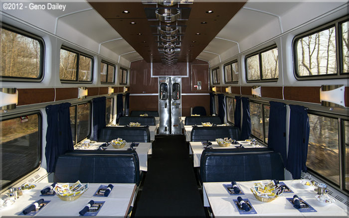 Vewliners Offer Two Nice Extras  TRAINS  TRAVEL WITH
