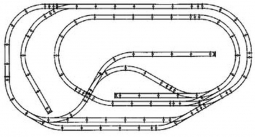 Atlas HO Scale True Track Layout Packages: Train Sets Only