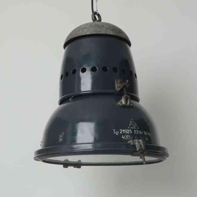 trainspotters lighting vintage hungarian EKA pendant light type 1