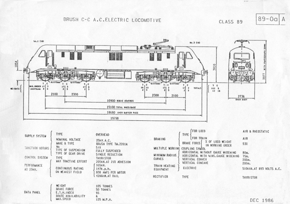 medium resolution of the official entry in the br diagram book class89 train