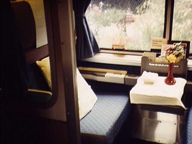Amtrak Coast Starlight Photographs