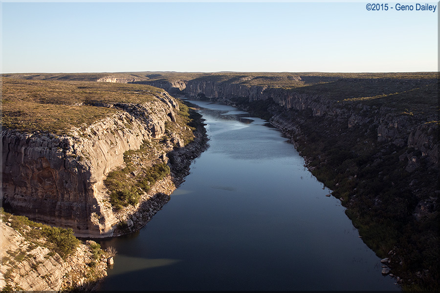Crossing The Pecos River At Langtry Tx The Tallest