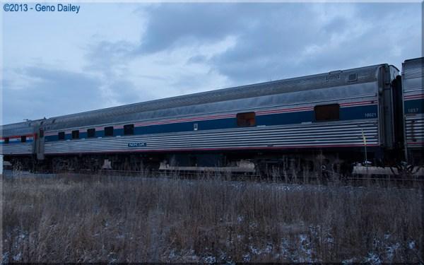 Amtrak Heritage Sleeper 10021 quotPacific Capequot another