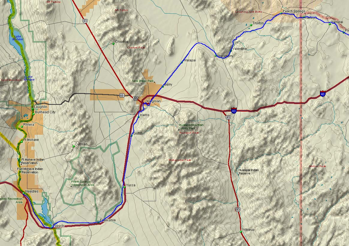 Topo Map Derived From Delorme Stopo Map 3 0