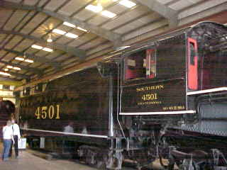 More views of the beautiful Southern Railway 4501
